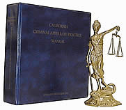 California Criminal Appellate Practice Manual