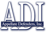 ADI - Appellate Defenders Inc. logo to homepage